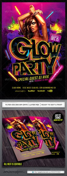 Summer Party Flyer Party flyer, Summer parties and Flyer template - party brochure template