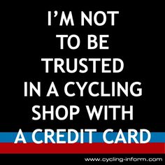 Im not to be trusted in a Cycling Shop with a Credit Card :-0 >>> http://cycling-bargains.co.uk/cycling-deals