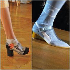 Margiela sock shoes Artisanal SS12 vs Fenty x Puma AW17