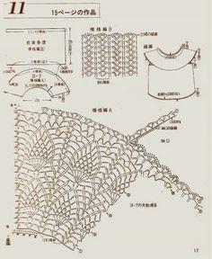 Kira scheme crochet: Scheme crochet no. 356