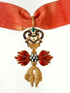 Order of the Golden Fleece (Austrian) - Badge once belonged to Count Karl Ficquelmounta (1777-1857), Foreign Minister of Austria in 1848 (Military History Institute, Prague)