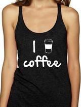 I LOVE COFFEE - Women's Tank Top                      – Black Star Tees