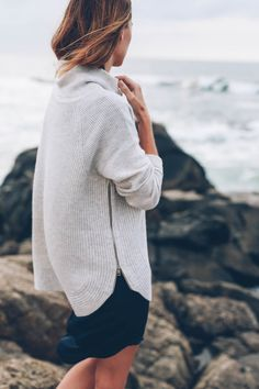 Cashmere Sweater from VINCE. on Jess Kirby of Prosecco & Plaid
