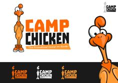 chicken logo character