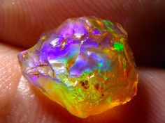 2.4ct Nice Quality Rough Mexican Water Opal Gem Grade