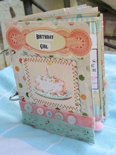 Vintage Birthday Book by Flea Market Studio | Flickr - Photo Sharing!