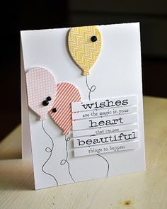 Wishes Are The Magic Card by Maile Belles for Papertrey Ink (July 2013)