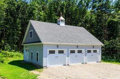 Garage Exterior x Newport Garage: The Barn Yard & Great Country Garages Radiant Heatin