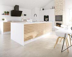 Old Kitchen, Wooden Kitchen, Ikea Kitchen, Kitchen Storage, Kitchen Decor, Minimal Kitchen, Scandinavian Kitchen, Fusion Design, Home Kitchens