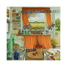 Pie Baking Day(Janet Kruskamp)
