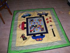 Quilt I made for my cousin Ryan