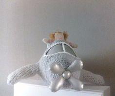 déco chambre fille, crochet décoration, jouet crochet, avion crochet, crochet espace,