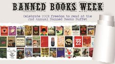 Banned Books Week  Celebrate YOUR freedom to read at the Annual Banned  Books Buffet 5e17948a36dc9