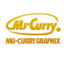 Mu-Curry GRAPHiX Logo Mark:だいぶ前ノリで創ったロゴマーク。なかなか嫌いじゃない。