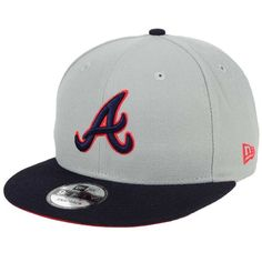 official photos 99df8 62a59 New Era Atlanta Braves All Shades 9FIFTY Snapback Cap featuring polyvore  women s fashion accessories hats mens