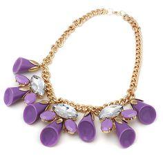 Fashion #Statement #Necklace, wonderful handmade http://www.beads.us/product/Fashion-Statement-Necklace_p192209.html?Utm_rid=219754