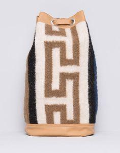 Pull&Bear - mujer - bolsos y mochilas - mochila tipo petate - arena - 09821318-I2015