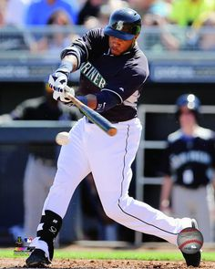 Seattle Mariners - Robinson Cano 2014 Action