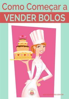 Aprenda agora como começar a vender bolos #aprendaonline #dicasdecozinha #façaevenda #bolos
