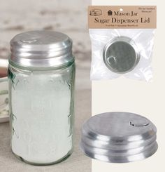 Sugar Dispenser Lid www.GreatFindsDecor.com