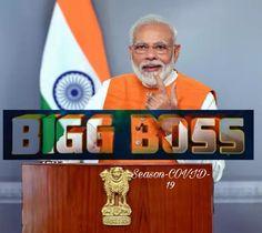 Big Boss house = India Flag of India Big Boss contestant = Big Boss = PM Narendra Modi Today Bask = Sunday ko ratri 9 bje ghr ki light bnd kr k mombatti, torch, diya, flash light lgao. Is karya ko ratri se tk krna anivary h Good luck Big Boss. Twitter Trending, Flash Light, Reality Tv, Boss, Sunday, Flag, Entertainment, India, Seasons