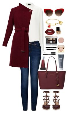 """Sultry."" by krys-imvu on Polyvore featuring 2LUV, Valentino, Ted Baker, Michael Kors, Dolce&Gabbana, Lime Crime, Givenchy, Butter London, Stila and Christian Louboutin"