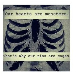 "Just thought this related so much to Andy's song ""Ribcage"""