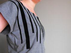T-shirt embellishment tutorial