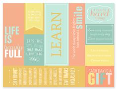 printable bookmarks perfect for a last minute mother's day gift.