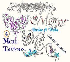 Mutter Tattoo Designs von Denise A. Insane Tattoos, Mom Tattoos, Trendy Tattoos, Tatoos, Tattoo Mom, Music Tattoos, Wrist Tattoos, Awesome Tattoos, Tattoos For Women Flowers