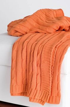 Rizzy Home Cable Knit Throw | Nordstrom
