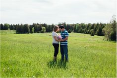 Newborn Session in a field | Kimberly Walker | Toronto Family + Lifestyle Photographer