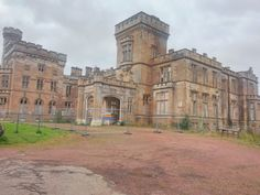 Birkwood Castle in Lesmahagow, Lanarkshire, Scotland is a Gothic mansion which dates from 1860. Once a children's hospital, it closed in 2002. This year developers say they hope to rebuild the 86-acre estate.