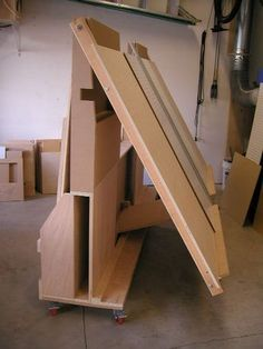 Woodworking projects guide - Inspect your lumber for nails before cutting. Despite new lumber could possibly have a car accident. Lumber is often associated with stapled bands that may remain. Woodworking Shop Layout, Woodworking Workshop, Woodworking Bench, Woodworking Crafts, Woodworking Basics, Woodworking Classes, Woodworking Techniques, Plywood Storage, Lumber Storage
