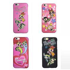 Korea Hot Cartoon Powerpuff Girls Candy Hard PC Case for IPHONE6 6S 6PLUS 6SPLUS | eBay