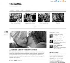 ThemeMin is a minimal, light-weight and typography-focused theme. It promises to provide comfort reading and fast loading. There is no images used in the theme (except the RSS icon). Regardless of the font size, ThemeMin still looks elegant and readable. ThemeMin is a true beauty of CSS and typography.