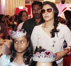 Kajol with daughter...