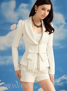 $35.39,Luxury Slim Bow Knot Long Sleeves New Arrival Blazer.