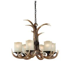 Buy the Vaxcel Lighting Black Walnut Direct. Shop for the Vaxcel Lighting Black Walnut Yoho 6 Light Single Tier Chandelier with Frosted Glass Shades - Inches Wide and save. Antler Chandelier, Black Chandelier, Rustic Chandelier, Chandelier Shades, Chandelier Lighting, Chandeliers, Rustic Lighting, Kitchen Lighting, Outdoor Lighting