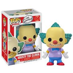 Simpsons Krusty the Clown Pop! Vinyl Figure