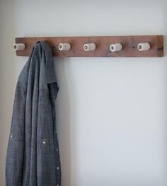 Salvaged Wood Coat Rack   Home Decor   Spacebarn   Scoutmob Shoppe   Product Detail