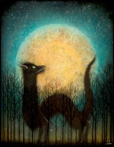 """The Feral Moon Rises"" by Andy Kehoe"