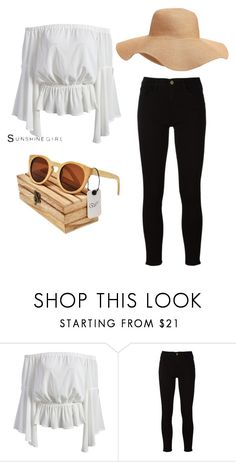 """Summer trends"" by nativeshades on Polyvore featuring Frame and Old Navy"