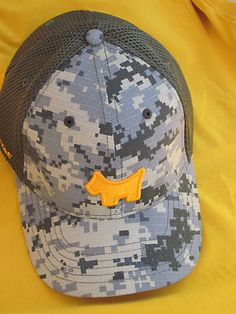 Scotty Cameron urban camo Scotty Dog hat. A $70 baseball hat... But still so cool.