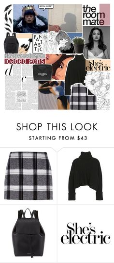 """""""BXTCH CRAFT"""" by half-dust ❤ liked on Polyvore featuring Kenzie, River Island, Prada, Mansur Gavriel, Chanel, Muuto, women's clothing, women's fashion, women and female"""
