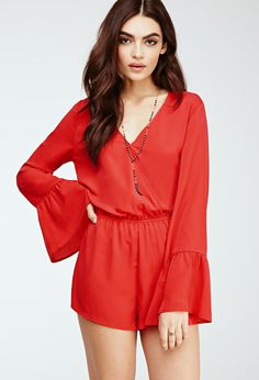 Ditch the party dress and go for something a little cooler: this romper.