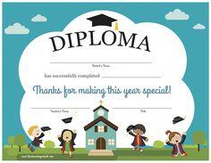 Printable Sunday School Diploma