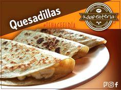 Este viernes comencemos el fin de semana con unas ricas y doraditas quesadillas! Les van a encantar les esperamos!  Abrimos de lunes a sábado de 8:00 a 22:00 hrs. horario corrido.  #Káapehtería #TeHaceElDía #ConsumeLocal #Cafetería #Café #Alimentos #Postres #Pasteles #Panes #Cancún #Chetumal #México