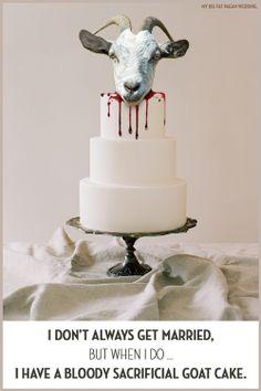 My big fat cake. Pagan Wedding, Some Ideas, Got Married, Wedding Cakes, Fat, Simple, Wedding Gown Cakes, Cake Wedding, Wedding Cake