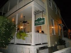 Cru Cafe, Charleston. Must make reservation. Right near the Market. Food looks yummy & southern
